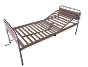 Κρεβάτι μεταλλικό Μονόσπαστο Καφέ (Χωρίς Κάγκελα και Ρόδες) 08b0195e41d