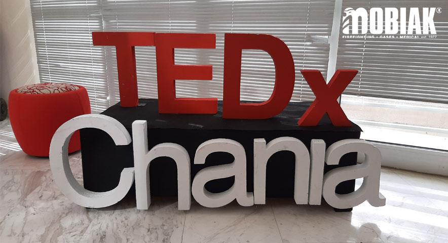 Η ΜΟΒΙΑΚ χορηγός στο TEDx Chania 2019